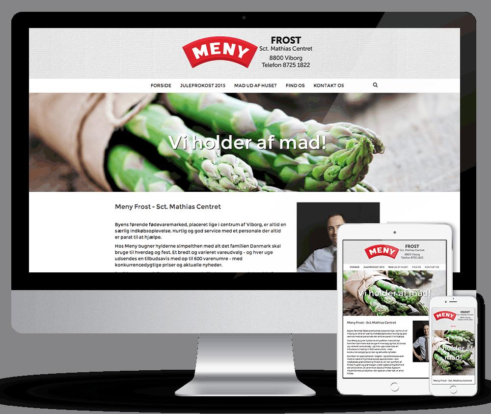 Responsiv webdesign. Få mobilvenlig web design på din professionelle hjemmeside. Webdesigner Viborg
