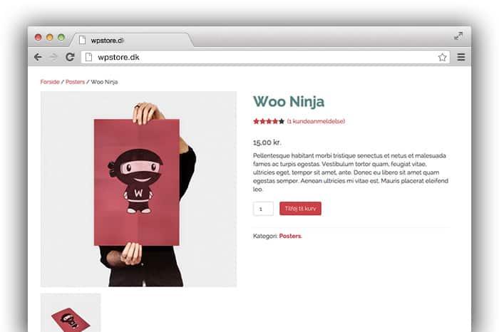 Logo Woo Ninja. Bedste webshop løsning. WordPress webshopdesign viborg.