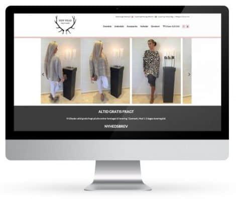 Webdesign af professionelle webshops. Web design der virker. Webbureau Rene Sejling - Viborg.