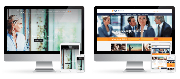 Responsivt design gør din hjemmeside mobilvenlig. Se godt ud på alle platforme. renesejling.dk