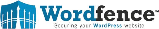 Wordfence logo. Sikkerheds-plugin, der øger din WordPress hjemmeside sikkerhed.