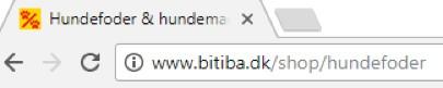 http vs https. Sådan ser et http website uden SSL-certifikat ud før okt. 2017. Rene Sejling.