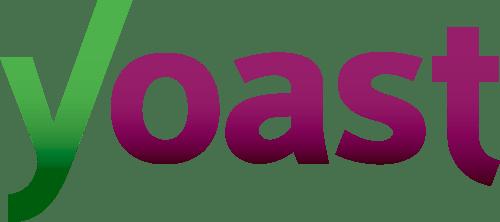 SEO by Yoast-logo. Yoast kan installeres på en webshop i WooCommerce.