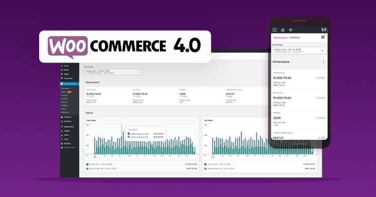Screenshot WooCommerce admin. Online salg m. WordPress. Alternativ til Simplero - renesejling.dk
